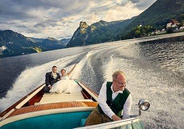 Bootsfahrt mit Wolfgang Gröller