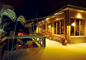 Winter im Bootshaus