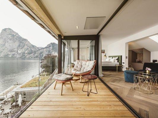 Finden Sie Entspannung in unserer Panorama Suite