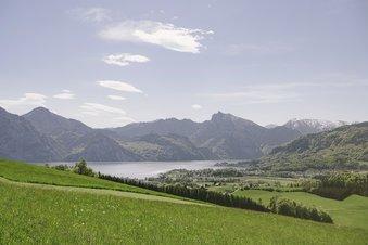 The Salzkammergut offers wonderful views