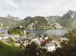 View over Traunkirchen