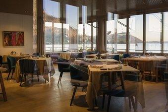 Restaurant Bootshaus Innenbereich