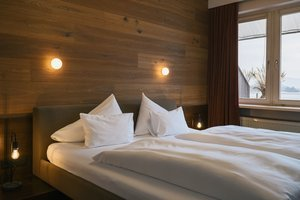 Schlafzimmer der Traunsee Suite