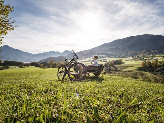 Cycling in the Salzkammergut