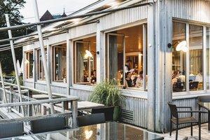 Außenansicht Restaurant Bootshaus