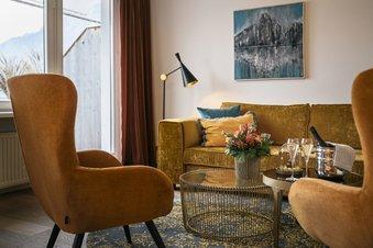 Traunsee Suite mit Seeblick und Balkon