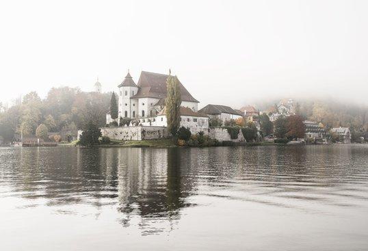 Herbststimmung in Traunkirchen