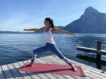 Yoga am Traunsee