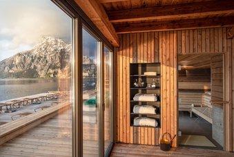 SeeSpa mit Panorama Sauna