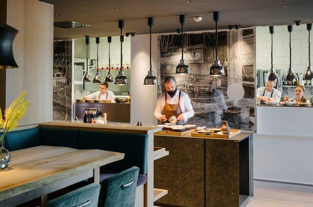 Direkte Einblicke in die Küche von unserem Restaurant Bootshaus