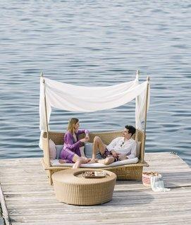 beliebtes Lieblingsplätzchen am See