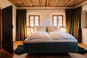 Master Bedroom im Erdgeschoss