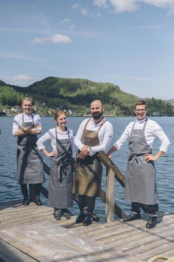 Executive Chef Lukas Nagl and his Team