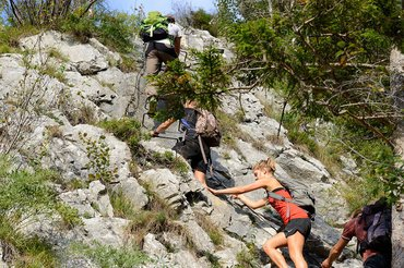 Bergsteigen am Traunstein, (c) Karl Heiz Ruber